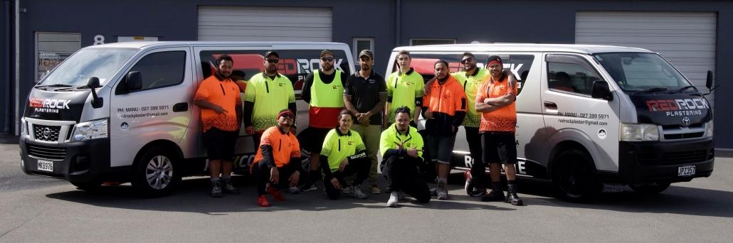 The Team RedRock Plastering Ltd Christchurch