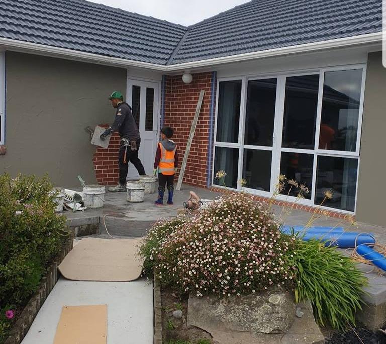 Christchurch Exterior Plasterers. RedRock Plastering Ltd.